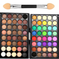 Fashion 40 color Eye Shadow Matte Eyeshadow pallete Waterproof long lasting Bronzer Naked Palette Eye kyshadow maquiagem BS623