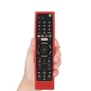 Image 5 - SIKAI etui silikonowe do SONY z pilotem RMF TX200 skóry do Sony OLED smart pilot do telewizora etui ochronne