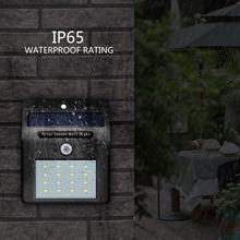 Motion Sensor LED Solar Power Path lamp Wall Light Outdoor lighting Garden waterproof porch Street Security Sunlight Lamp solar outdoor lighting wall lamp 48leds 800lm 4modes super bright microwave radar motion sensor street path lamp security light
