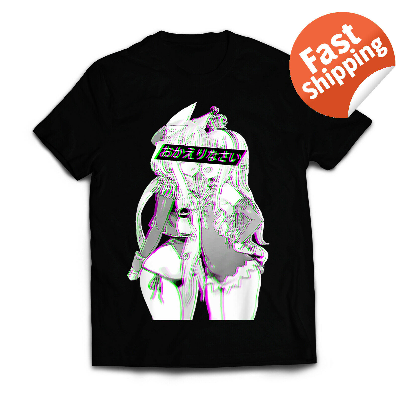 Welcome Home Senpai, Hentai ,  Parody T-Shirt Cotton Men T-Shirts Classical 2019 O Neck Streetwear Hip Hop Tops Tee