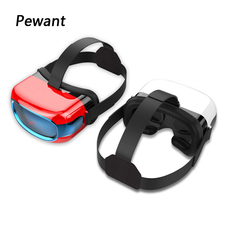 Original Pewant Virtual Reality Glasses VR All In One HD Headset Cinema VR With WIFI G-sensor Quad Core PC CPU 3D Video Play vr goggle foldable virtual reality 3d glasses cardboard