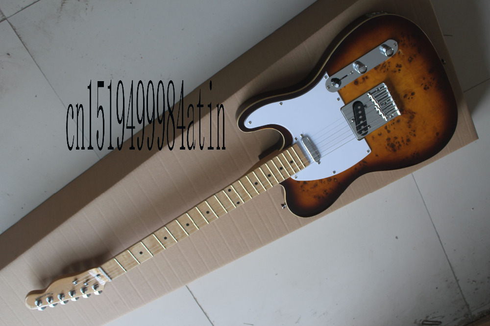 Free shipping High Quality electric Guitar telecaster Electric guitar in stock @17 free shipping telec electric guitar natural tl guitar maple body and main bearing guitars oem guitarra eletrica telecaster