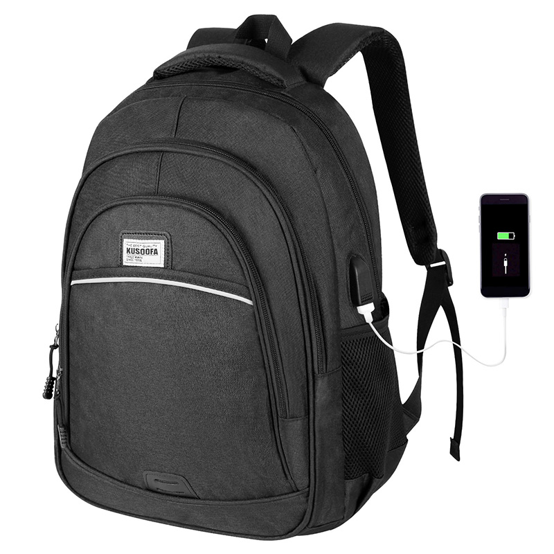 Backpack Waterproof USB Charging Laptop Backpack Anti Theft Men's Backpack Travel Teenage Back Pack Bag Male Bagpack Mochila