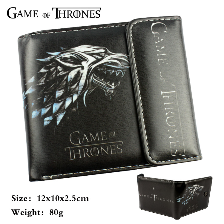 Game of Thrones wallet cartoon Purse for Young People mens women purse male female coin purses holders wallet anime cartoon wallets bifold game pokemon go pikachu wallet for teenager women men pocket monster purse coin purses holders