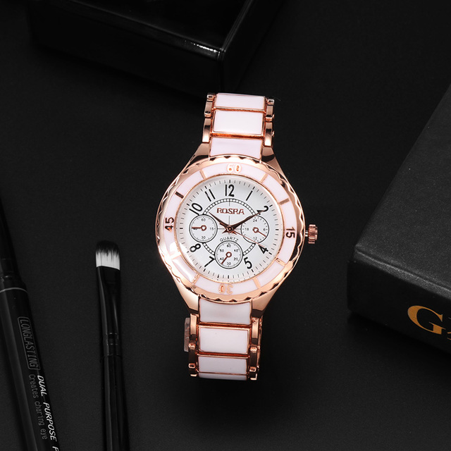 2018 Fashion Women Watches Personality Romantic Rose Gold Wrist Watch Stainless Steel Ladies Clock montre femme reloj mujer 2
