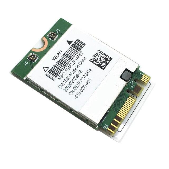 חדש לגמרי DW1560 BCM94352Z 802.11ac NGFF M.2 867Mbps BCM94352 Bluetooth 4.0 WiFi אלחוטי כרטיס עבור Mac Hackintosh