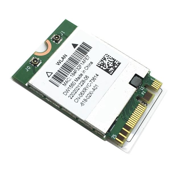 Tout nouveau DW1560 BCM94352Z 802.11ac NGFF M.2 867Mbps BCM94352 Bluetooth 4.0 WiFi carte sans fil pour Mac Hackintosh