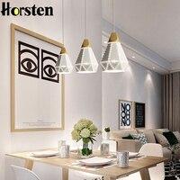 Horsten Modern Nordic Creative Loft Dinning Room Pendant Light Scandinavian Design Colorful Pendant Lamp For Restaurant