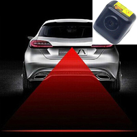 FUGSAME Car Laser Tail Fog Light Auto Brake Parking Lamp Rearing Warning Light for kia toyota bmw audi hyundai honda vw lada kia