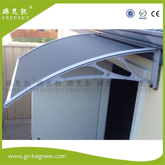 Ypx300cm 100x600cm Door Canopy Awning Rain Shelter Front Back Porch Shade Patio Roof Cover