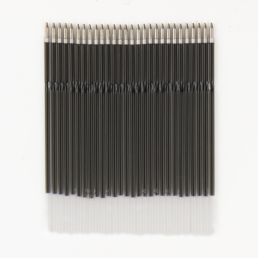 10pcs/Lot General Ballpoint Pen Refill High Quality Black Blue 0.7mm Bullet Office School Supplies