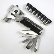 Stainless  Steel Hammer With Sleeve Multifunction Pliers  Large Pipe Wrench Hand Tool  Herramientas
