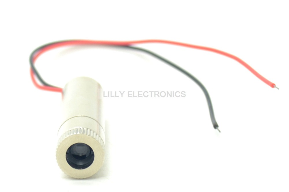 Focusable 980nm 30mW Adjusted IR Infrared Diode Laser Dot Module 12x35mm 3V-5V