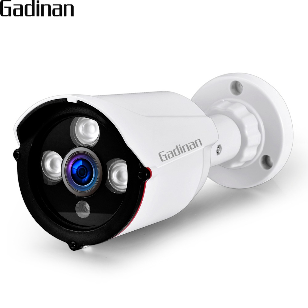GADINAN IP Camera POE ONVIF 1080P 2MP 960P 720P H.265 H.264 Wired Home Network Video Outdoor Bullet Wide Angle Security RTSP