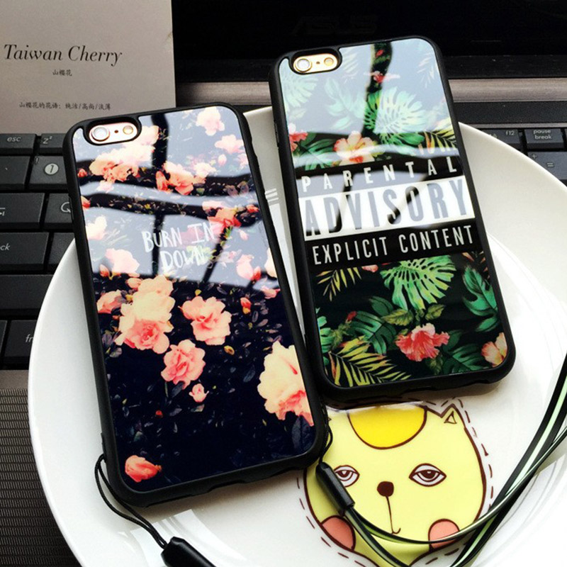 Advisory parental soft silicon case for iphone 5s case 5 for Coque iphone 5 miroir