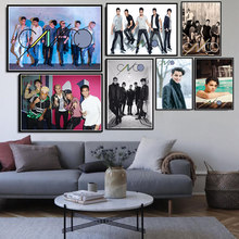 CNCO Music Group Singer Star Art Poster Canvas Painting Wall Picture Home Decor Posters and Prints(China)