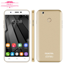 Original Oukitel U7 Plus 4G Smartphone 5.5 inch Android 6.0 MT6737 Quad Core HD 2GB+16GB 13.0MP Fingerprint Mobile Phone