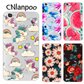 For Huawei GR3 Case Without Fingerprinting Drawing Painting Soft TPU Fashion Phone Case Cover for Huawei GR3 Fundas Capa
