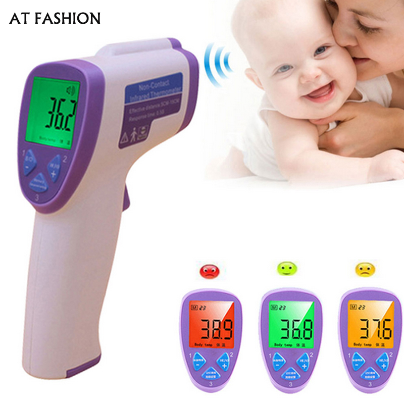 Multi-purpose lcd Digital Thermometer For Baby Adult Non Contact infared forehead Thermometer Body Temperature Measurement gun  цены