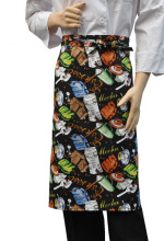 Hot  colorful Unisex Fashion aprons kitchen cook aprons Checkedout chef aprons top quality