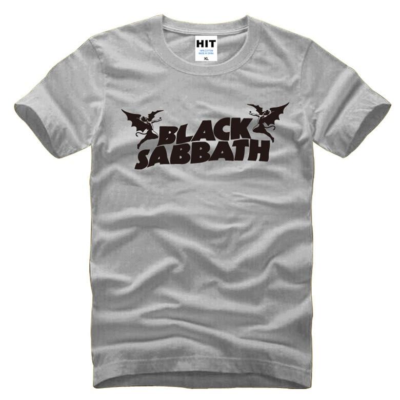 Black Sabbath Classic Heavy Metal Rock camiseta de los hombres - Ropa de hombre