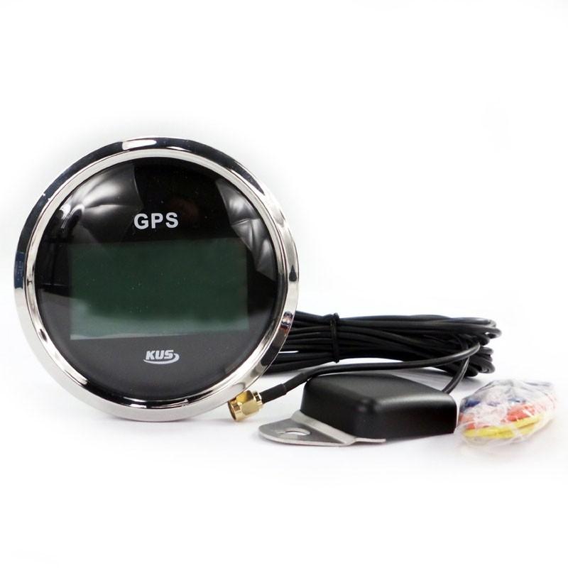 85 мм цифровой GPS и спидометр/Teacher датчики индикатор морской авто грузовик мотоцикл яхта lanka установки инструмента