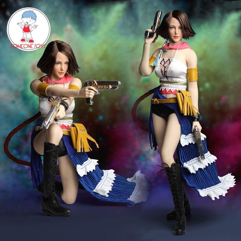 SUPERDUCK 1//6 Final Fantasy Yuna Head Sculpt Clothing Accessories SET024 USA