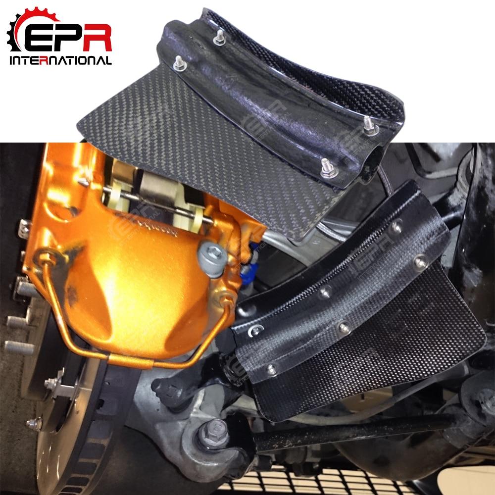 For Nissan 2008 2011 R35 GTR Tuning Carbon Fiber Rear Brake Cooling Kit Set