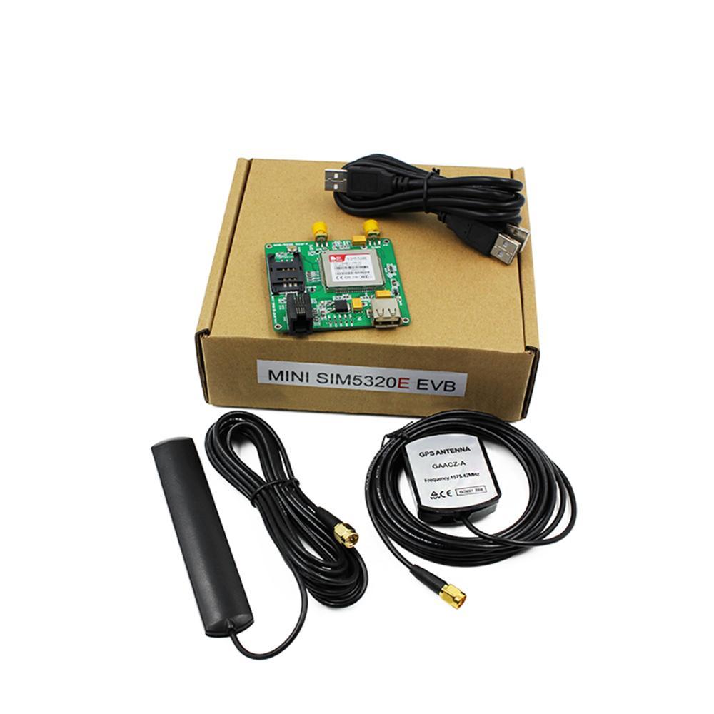 SIM5320E EVB Board HSPA GPS WCDMA Kits Data M2M  SMS 3G Module 2100mhz With Antenna FZ3594