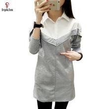 2017 High Quality Women Polo Shirt Cotton Slim Patchwork Polo Femme Shirt Plus Size Brand Polo Raph Women S-4XL Black Gray YY402