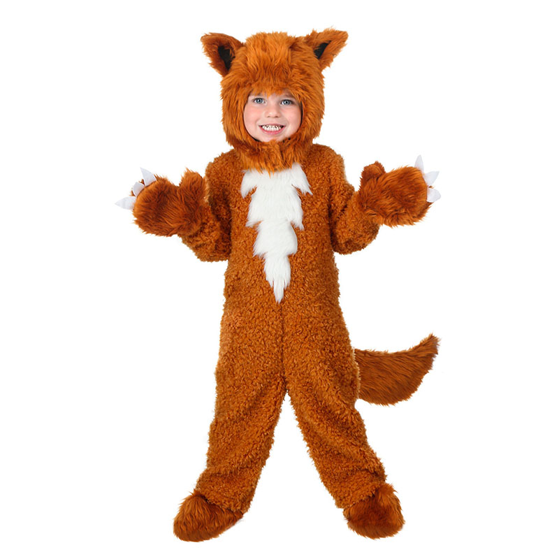 Toddler Cute Mr. Fox Cosplay Clothes Soft and Cuddly Animal Costume Children Animae Animal Outfit