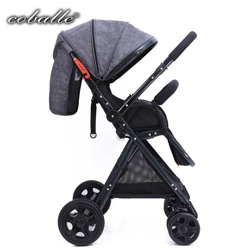 Portable Lightweight Traveling Baby Carriage Buggy Stroller high landscape Two-way baby stroller
