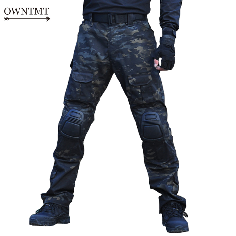 Paintball Accessories Radient Cqc Military Army Tactical Shirt Gen2 Camo Long Sleeve Men Acu Hunting Paintball Airsoft Bdu Combat T Shirt With Elbow Pads Sports & Entertainment