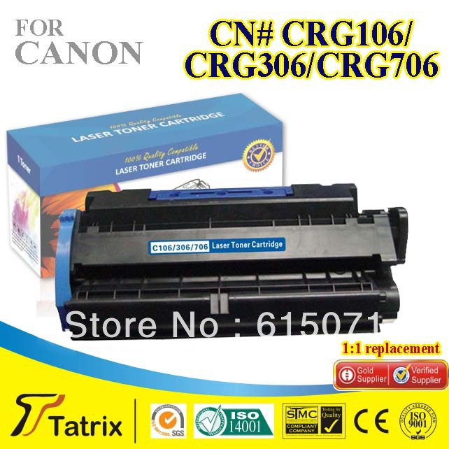 ФОТО Black CRG106Toner Cartridge Compatible CRG106Cartridge Toner for Canon Free Shipping