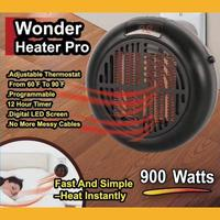900W Mini Electric Fan Desktop Household Electric Heater Cute Three gears Fast Handy Heater Large Size Warm Machine for Winter