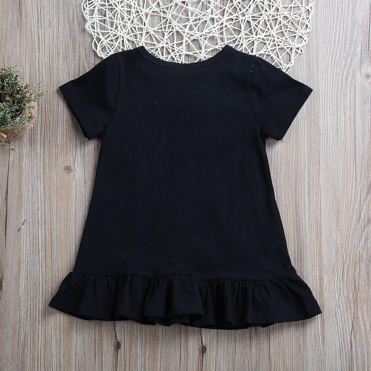 PUDCOCO Laste kleit musta värvi 1