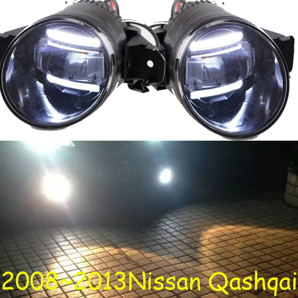teana,2008~2013 Qashqai fog light,Free ship!LED,Qashqai headlight,Micra,Titan,versa,stanza,sentra,Tsuru,stagea,Qashqai day lamp-in Car Light Assembly from Automobiles & Motorcycles    1