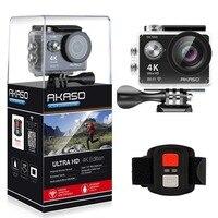 AKASO EK7000 4k wifi наружная Спортивная Экшн-камера Ultra HD Водонепроницаемая видеокамера DV 12MP Экстремальная подводная селфи-палка штатив