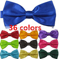 Formal commercial bow tie male Solid color marriage bow ties for men candy color butterfly cravat bowtie butterflies LJ14