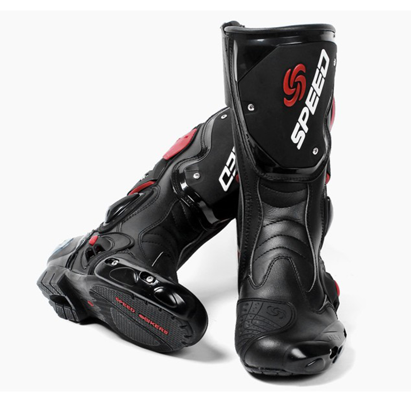bd8c86c5f9 NEW Professional 40 45 Speed shoes motorcycle boots 4 Seasons moto boats  motobotinki speed Protective Gears motocross shoes-in Motocycle Boots from  ...