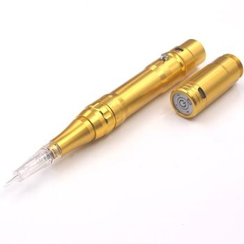Digital permanent makeup rotary tattoo pen 3 level speed adjustable wireless eyebrow tattoo machine makeup tool
