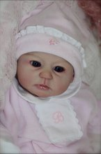 soft vinyl reborn doll accessories silicone reborn dolls kits vinyl DIY wholesale unpainted blank Doll Part Unfinished Art Works(China)