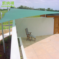 5.5 x 5.5 X 5.5 M/pcs Customized breathable HDPE Sun Shade Sails with UV protection for patio shade