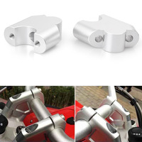 40mm Motorcycle Handlebar Riser Set Moves Bar Up Alloy Tool For BMW F800GS 2008 2009 2010 2011 2012 2013 2014 2015 2016 2017