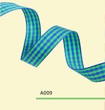 1″ Inch 25mm tartan ribbon