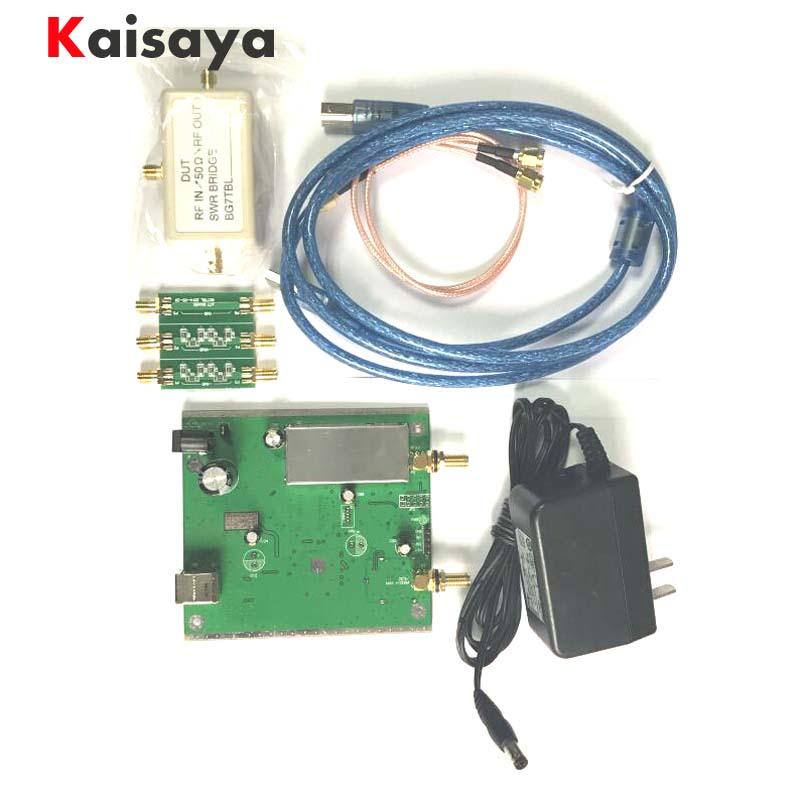Nuovo NWT500 0.1 MHz-550 MHz USB Spazzata analyzer + attenuatore + SWR ponte + SMA Cavo NWT500 B3-006