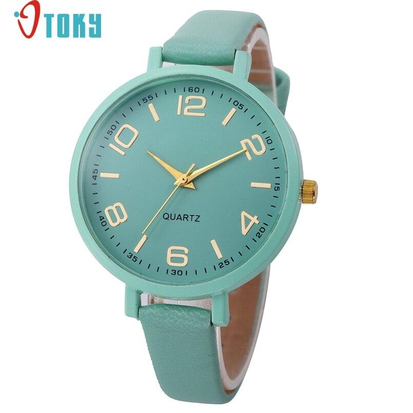 Excellent Quality OTOKY Watch Women Casual Leather Analog Quartz Dress Watch Wristwatches Female Watches Relogio Feminino Gift