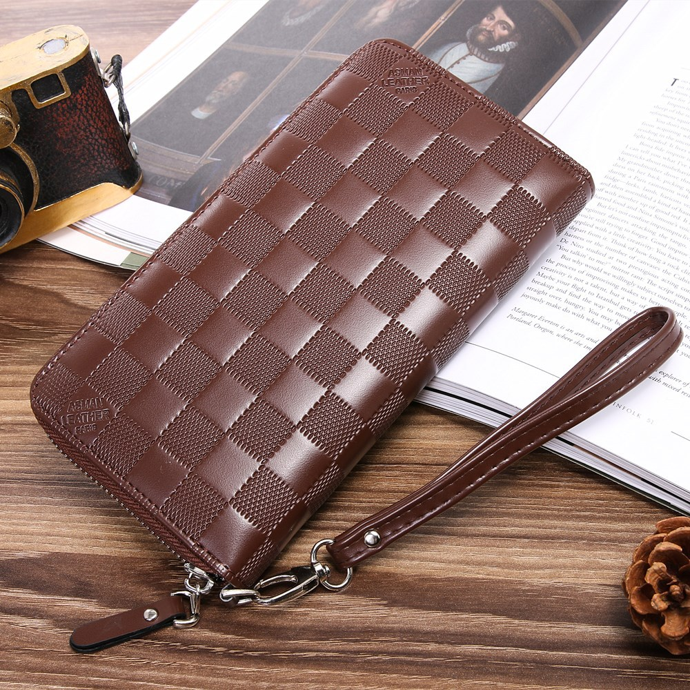2017 The New Leather mens Wallet man Coin Purse Small Brand male Credit&id Multifunctional Walets wsp