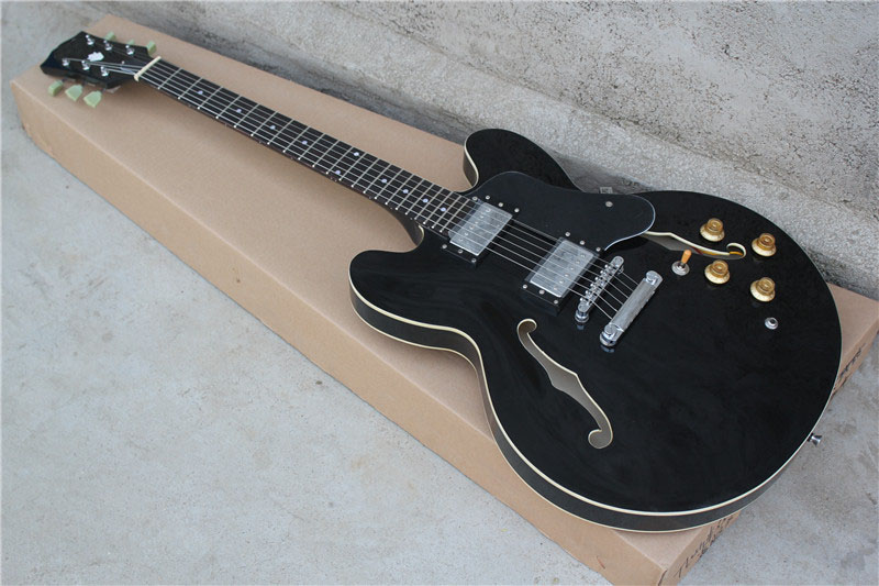 Бесплатная доставка Лучшая цена ES335 ES 335 черный Электрический Гитары в наличии 16 131