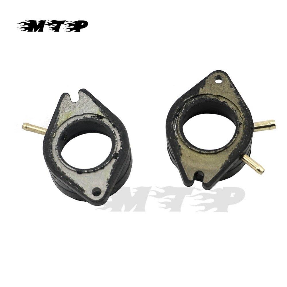 For Yamaha XV750 XV 750 Virago 81 - 86 Motorcycle Carburetor Interface Adapter Intake Manifold Boots XV700 84 - 87 XV920 XV1100